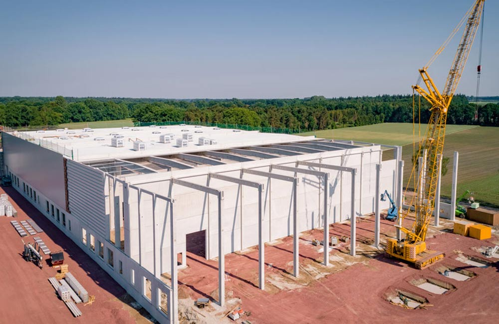 Bauteilenachweis Industriehallenerweiterung
