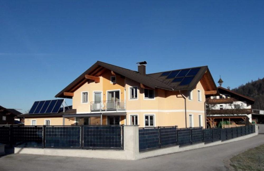 Photovoltaik-Lösungen für öffentliche Parkplätze und Gewerbegebiete