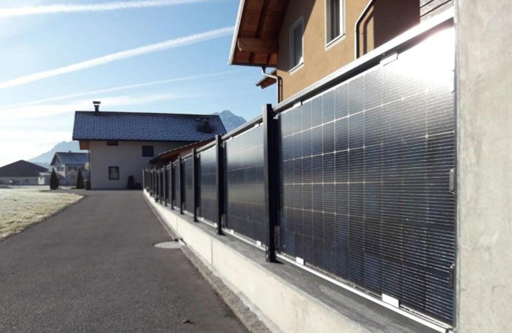 Solar-Zäune beschleunigen die Energiewende