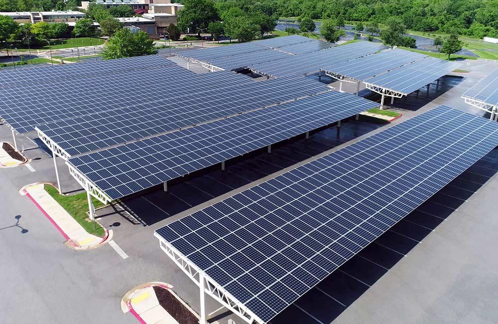 Solar-Carports sorgen für nachhaltige Energie